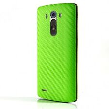 3D Textured Carbon Fibre Skin Sticker Vinyl Cover  FOR ALL LG Mini G2 G3 G4 G5