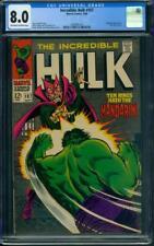 Incredible Hulk #107 CGC 8.0 OW/WH (Mandarin app)