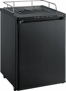 """EdgeStar BR3002 24""""W Kegerator Conversion Refrigerator for Full - Black"""