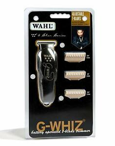 Wahl Professional 8986 5 Star G-Whiz Black Cordless Trimmer