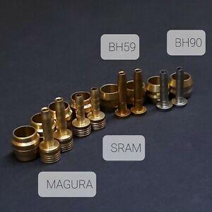 USA 8 Pack Magura/SRAM/AVID BH-90 BH-59 Disc Brake Hydraulic Hose Olive/Inserts