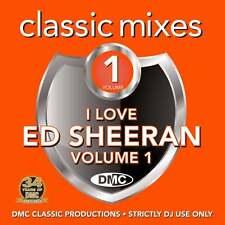 DMC Ed Sheeran Megamixes & 2 Trackers Mixes Remixes Ft New Order Soul2Soul DJ CD