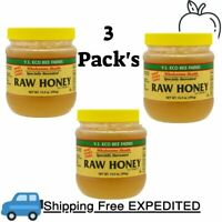 3 Pack's Y.S. Eco Bee Farms, Raw Honey, 14.0 oz (396 g)