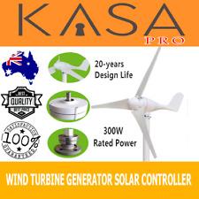 Wind Turbine Generator 3 Blade 300W 12V Digital Hybrid Wind/Solar Controller