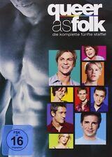 QUEER AS FOLK, Staffel 5 (4 DVDs) NEU+OVP