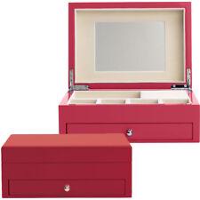 Reed & Barton* High-Gloss Jewelry Box - Poppy Red