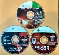 Gears Of War Xbox 360 Game Lot Of 3 (1, 2, Judgment)