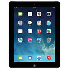 Apple iPad 4th Gen Retina Display 16GB Wi-Fi 9.7in  Black