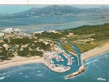 GIENS vue panoramique du petit port de La Capte écrite
