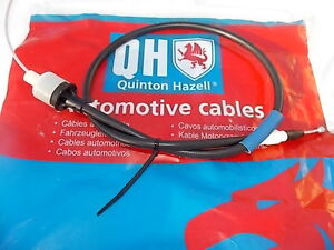 FORD ESCORT RS1600i  XR3i RS TURBO  + CONVERTIBLE   CLUTCH CABLE  OE REF 6082435