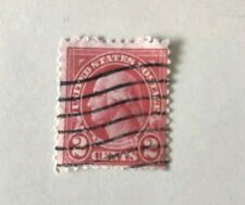 "George Washington 2 Cent USPS Stamp  Red Very Rare -""Plus Suprise Pack Stamps"""