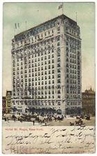 1907 Postcard  Hotel St. Regis  Manhattan, NY