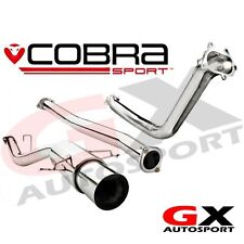 SB30d Cobra Subaru Impreza WRX STI 06-07 Race Turbo Back Exhaust DeCat Non Res