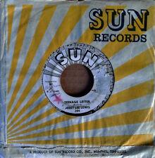 JERRY LEE LEWIS - TEENAGE LETTER b/w SEASONS OF MY HEART - SUN 45 - WHITE LB PRO
