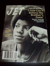 Michael Jackson Magazine Jet Memorial Tribute 2009 Rare MJ Thriller King Of Pop