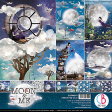 Moon and Me Ciao Bella Papers 12 x 12 Paper Pad NEW Fantasy Paper