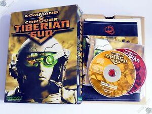 PC IBM COMMAND & CONQUER TIBERIAN SUN BIG BOX CD-ROM COMPUTER GAME WESTWOOD