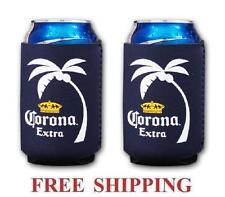 Corona Extra Palm Logo 2 Beer Can Coolers Koozie Coolie Huggie Modelo New