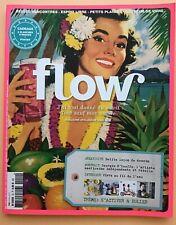 FLOW N°10 2016 - Magazine Art Culturel - Avec Cadeau -TBE - Version Française