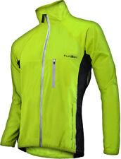 Funkier Waterproof Cycling Jacket 4XL Yellow Reflective