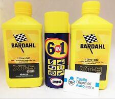 Olio Bardahl 10w60 XTS C60 moto 4T Fully Synth kit 2 pz + Svitol in omag. 359039