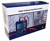 5000V 60 G Ohm Insulation Tester Megger MegOhm Meter Digital DT-6605 CAT IV NEW