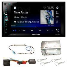 Pioneer AVH-A3100DAB USB MP3 DAB+ Bluetooth CD DVD Einbauset für Fox Polo 9N3
