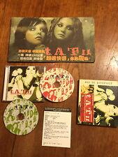 t.A.T.u. All the Things she Said 4 Version DJ Remix Taiwan Promo CD+CD+DVD Box
