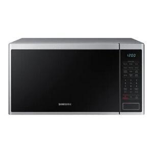 Samsung 1.4-cu ft 1000-Watt Countertop Microwave MS14K6000AS