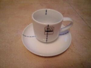 ASA 2er Set Teebecher minto 0,15l Becher Porzellan Handmade mint türkis