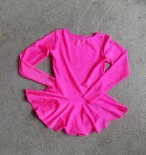 GIRLS PRETTY ICE SKATING DRESS / SKIRTED LEOTARD SIZE 26 / 28INS CHEST