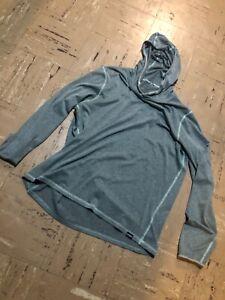 Patagonia Men's Tropic Comfort Long Sleeve Hoody UPF Sun Fishing Shirt Large L