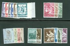 Vatican City 1965 Compete MNH Year Set