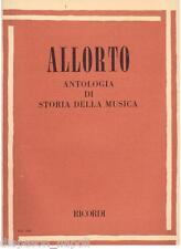Allorto: Antologia Di Storia Della Musica