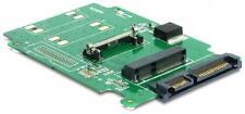 Renice Half-Mini mSATA a tablero de adaptador de SSD de 2.5 pulgadas SATA II