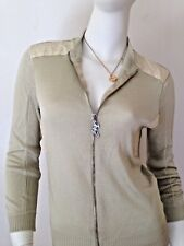 100%AUTH ICEBERG ICEJEANS GILMAR ITALY STRETCH TOP DRESS BLOUSE SWEATER M $456
