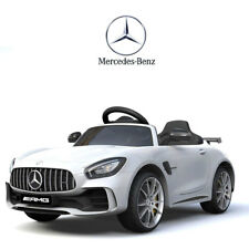 Auto Elettrica Per Bambini Mercedes Benz AMG GTR 12V Bianco SoftStart GT-R