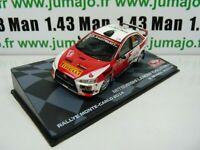 RMIT16F 1/43 Ixo Rallye Montar Carlo : Mitsubishi Lancer Evo X 2014 Rendina #33