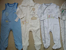 AMAZING MOTHERCARE TIGER WINNIE NEW BUNDLE OUTFITS  BABY BOY 9/12 MTHS (3)NR427