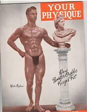Vintage Bodybuilding Magazine YOUR PHYSIQUE/Martin Gagliano 1-46