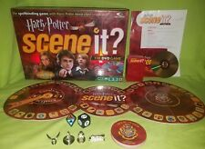 Harry Potter Scene It 1st Edition The DVD Board Game 100% Complete
