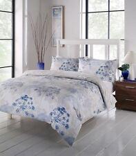 Floreale Bianco Beige Blu Piumino Singolo Confortevoli Copertura