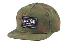 Navitas Apparel NEW Carp Fishing Camo or Black MFG Snapback Cap Hat