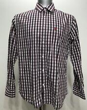 US Polo Assn Checkered/plaid Botton Down Men Long Sleeve Size XL