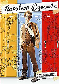 Napoleon Dynamite DVD (2005) Jon Heder, Hess cert 12 Fast and FREE P&P B14BL