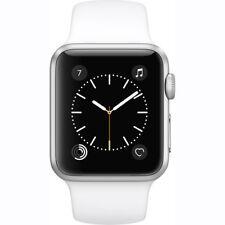 Apple Watch Gen 2 38mm Silver Aluminum - White Sport Band MNNG2LL/A