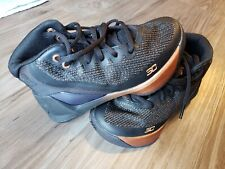 NWOB Under Armour Steph Curry 3 ASW Kids Youth 11K 1303609-001 Copper Black