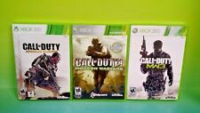 3 - COD Games XBOX 360 Complete - Call of Duty Modern 3 + 4 + Advanced Warfare