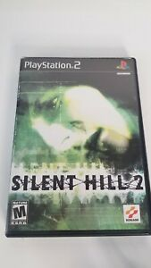 Silent Hill 2 PS2 (Playstation 2, 2001) Black Label Tested Working