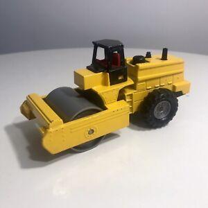 Rare Vintage !!! Majorette Chantier Compacteur 1/56 construction compactor 1:56